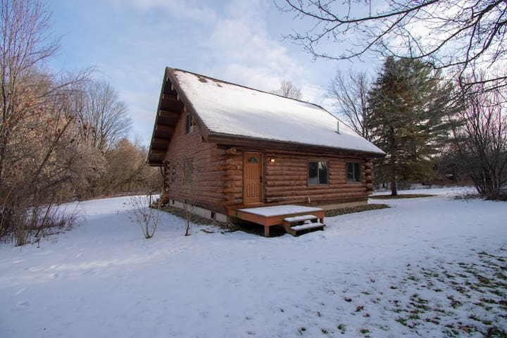 Beautiful New Log Home on 20 Acres