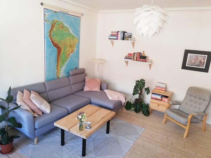 Cozy green oasis in the center of Aalborg