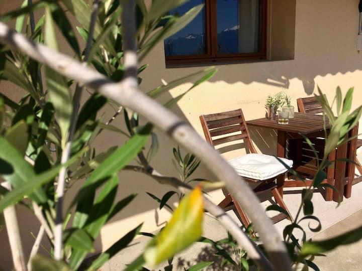 Cosy et indépendant, terrasse, à 5 min. de Vevey