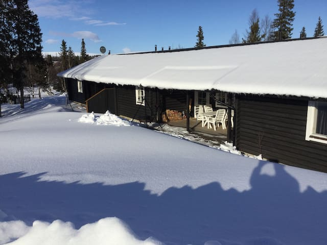 Nice 55m2 cottage in Storvallen, Sweden. - Åre SV - 自然小屋