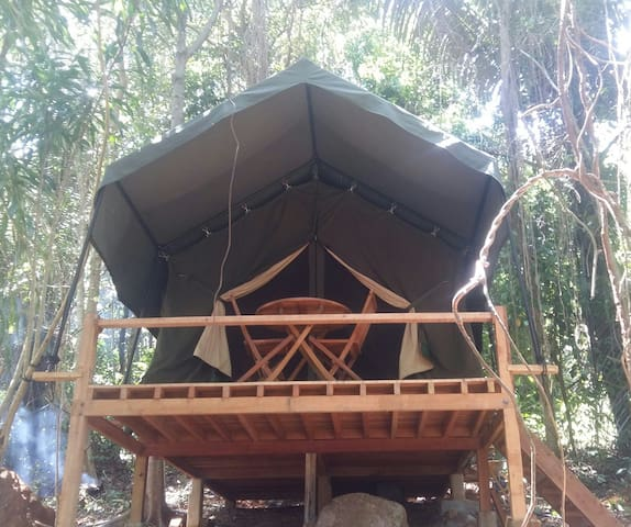 Perhentian Jungle Safari Tent 1