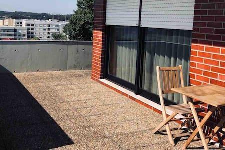 Porto-Braga Family Brick Terrace Deluxe
