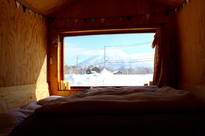 Niseko Tiny trailer house stay