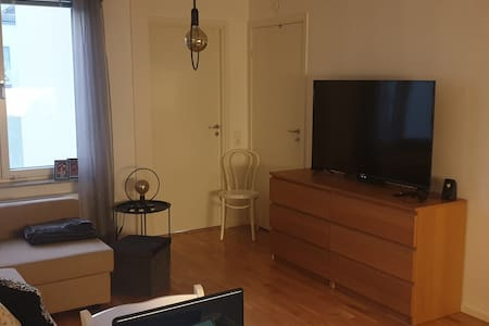 Modern lägenhet, 20 minuter från innerstan