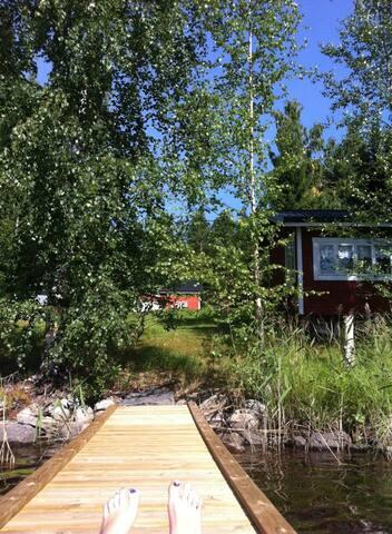 Loma-asunto Keitele- järven rannalla