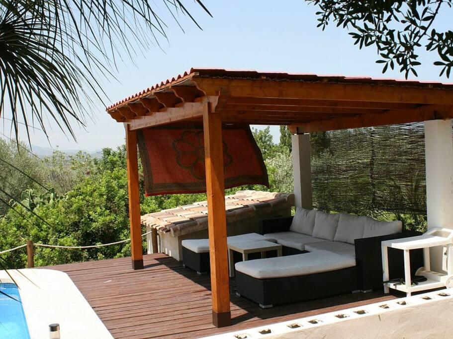 Apartamento con piscina privada suite de invitados en for Restaurantes con piscina en comunidad de madrid