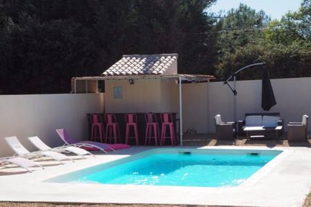Double villas avec piscine et SPA proche Uzès. - Saint-Siffret