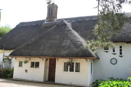 Beautiful 16C Grade 2 thatched house - double room - Cheveley - Bed & Breakfast