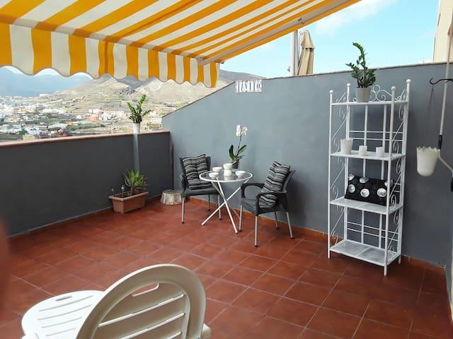 Piso terraza Gáldar, mascotas - Gáldar - Wohnung