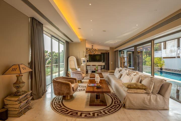 OneGoa - Ultra Luxury 4BR Villa nr Bambolim