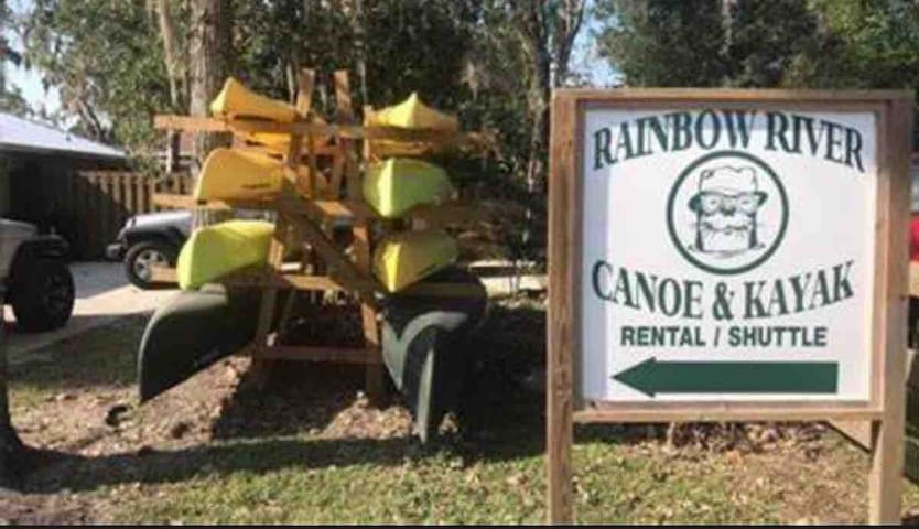 Canoe and Kayak!