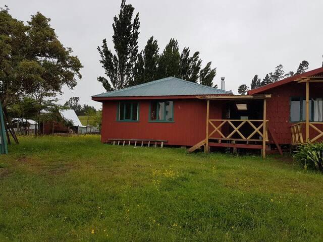 Cabaña 3  - Playa Quento, Castro - Chiloé