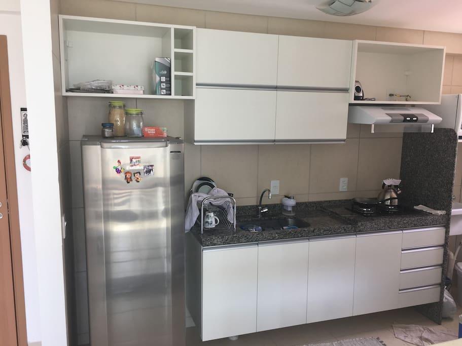 Apartamento Loft - Cozinha planejada