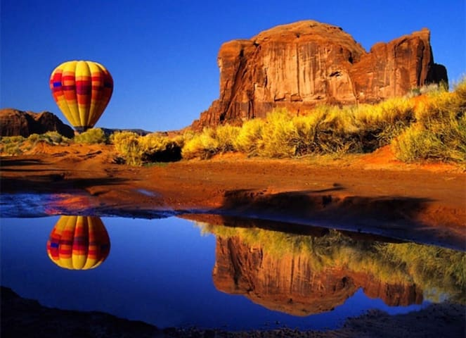 Exciting hot air ballon rides!