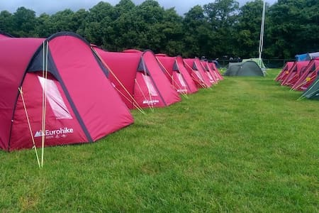 Pre-Pitched Tent for 2 Persons - 카디프(Cardiff) - 텐트