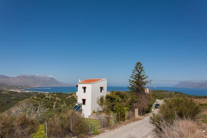 Manolis Villa with amazing view - Kallergiana - Villa