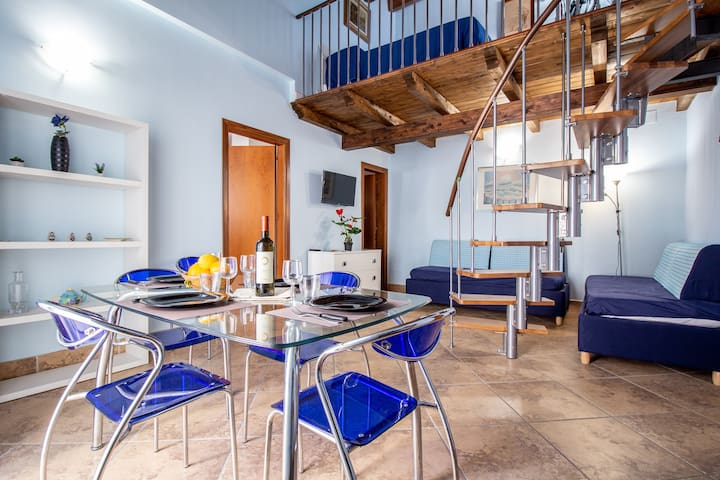 ✅Capo Loft⛑️Sanitized loft in historical center