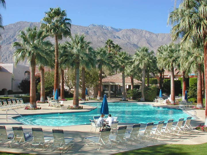 DV035 - Deauville Charmer - 1 Bdr Condo in Downtown Palm Springs, Tennis Courts and Near Casino