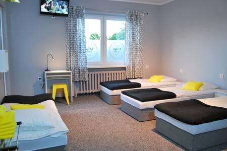 Loft18 Hostel - pokój 6-cio osobowy we Wrześni - Września - Rumah