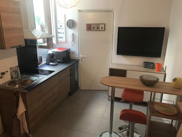L'orangeraie - Coquet Studio, Libourne centre