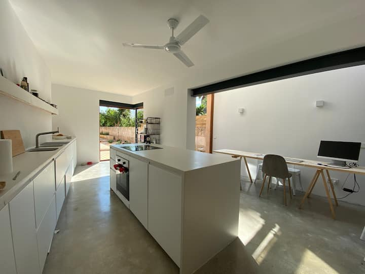 Design apartment in the heart of Ses Salines