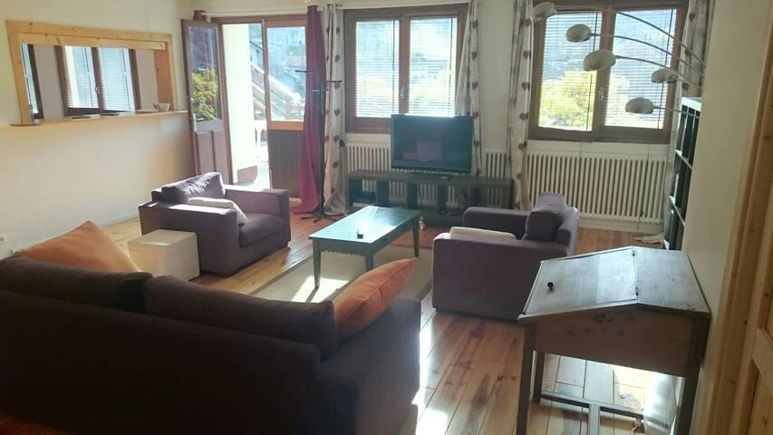 Apparemment spacieux montagne - Mont-Saxonnex - Apartment