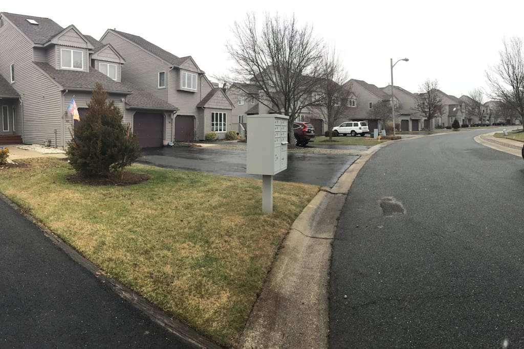 Panoramic Shot of Unit and Complex