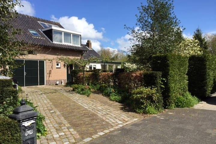 cosy room near Amsterdam with comfy bed (1 or 2) - Purmerend - Bungalow