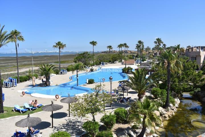 Dúplex 2 plantas con vistas a Bahía de Cádiz