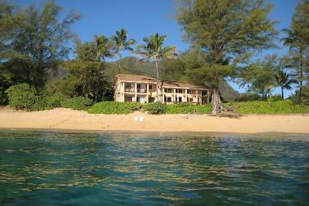 Amazing Beachfront 4 bedroom home. Special rates.