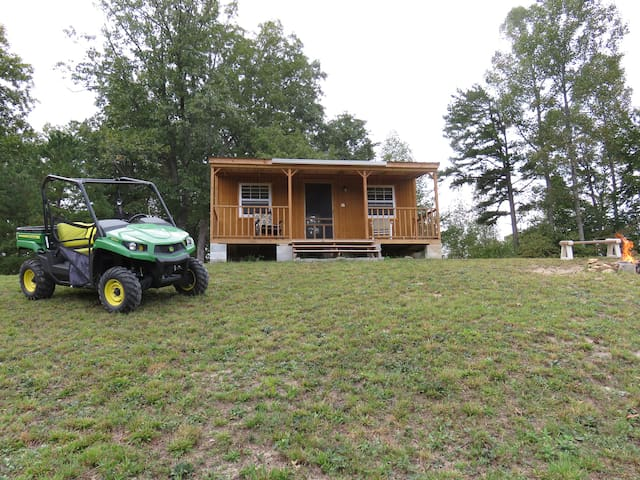 Basic Camping Cabin Near Wildcat Adv. Offroad Park - East Bernstadt - Chatka