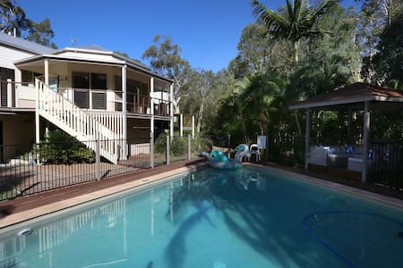 NEW Noosa Gums, The ultimate luxury family escape! - Cooroibah - Hus