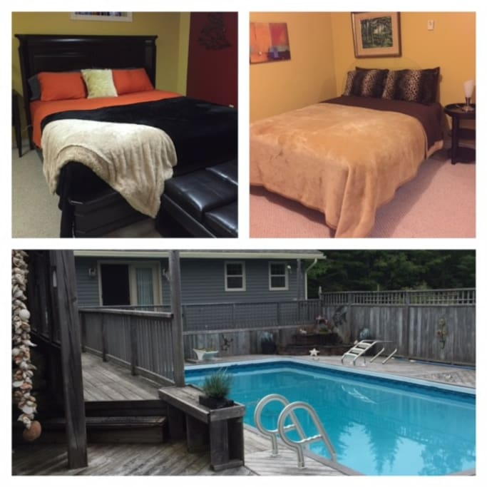 King Sized Comfort.. 2 beds available