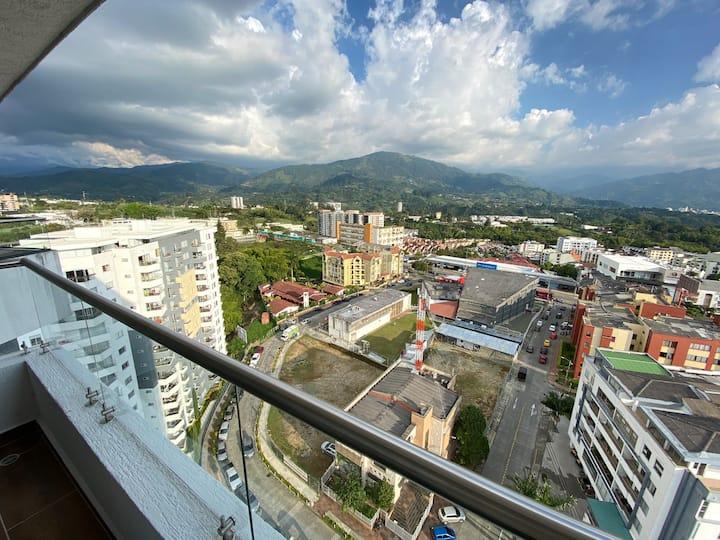 Apartamento Con Hermosa Vista a la Cordillera