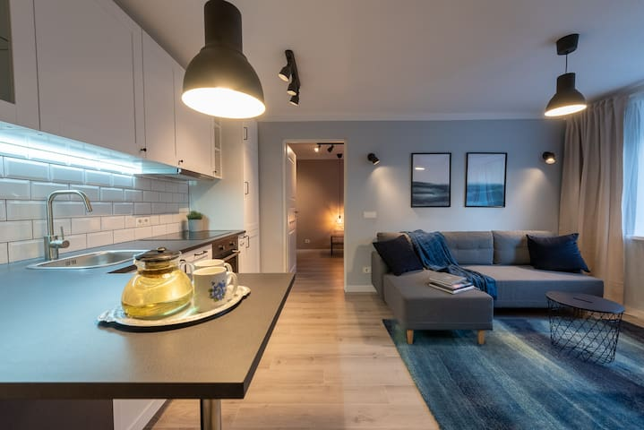 Travellers Apartment for 5 Persons close to Centre