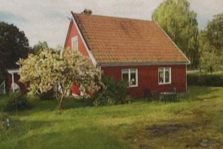Holiday home close to the nature Strassa/Sweden