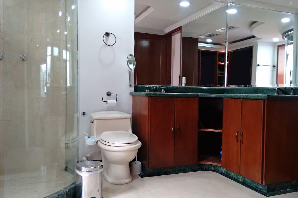 Master Bathroom/ Baño Principal