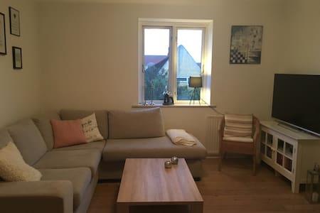 Flot lejlighed med udsigt udover havn - Frederikssund - Apartamento
