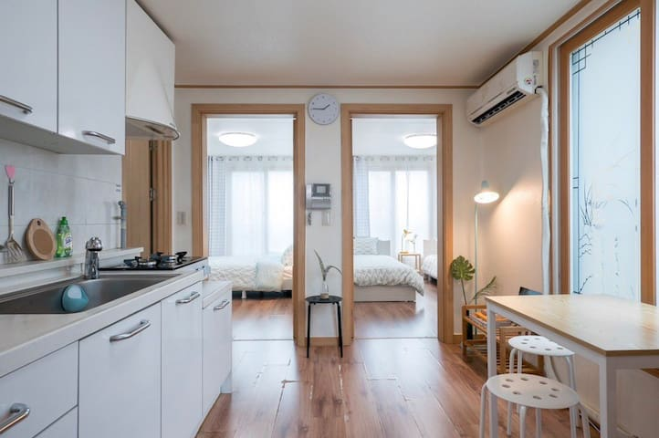 [Seoul station] 2mins from+2rooms+free wifiEGG