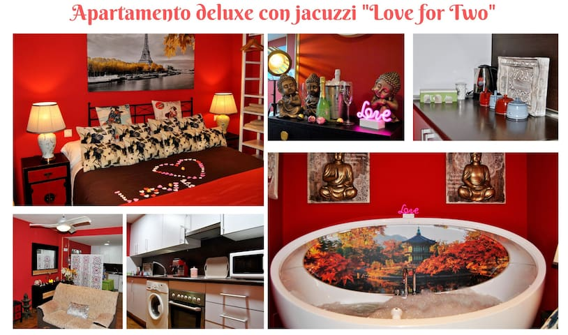 APARTAMENTO DELUXE  CON JACUZZI LOVE FOR TWO