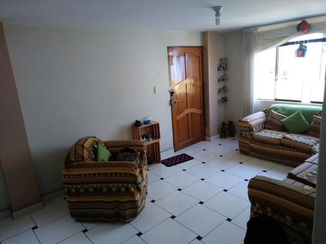 Habitación en Departamento de La Molina