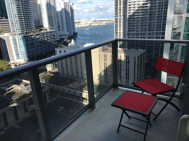 Brickell Centre Bay & River view, Two Rooms