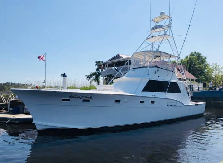 Luxury yacht accommodations in North Myrtle Beach