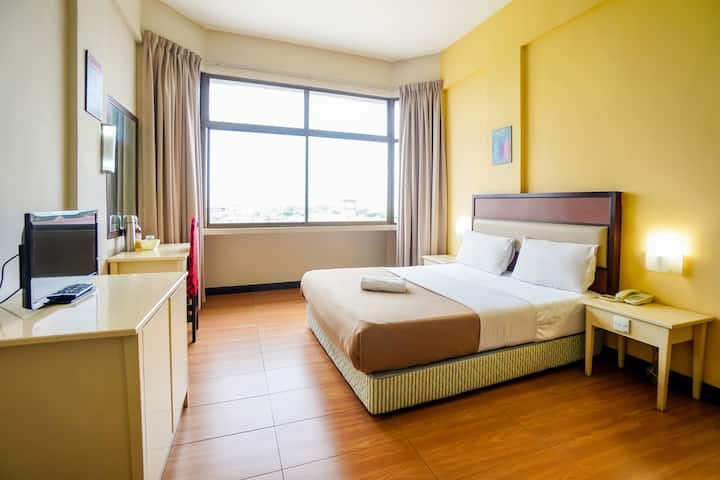 Double/Twin 2pax-Comfy Suite- Butterworth, Penang!
