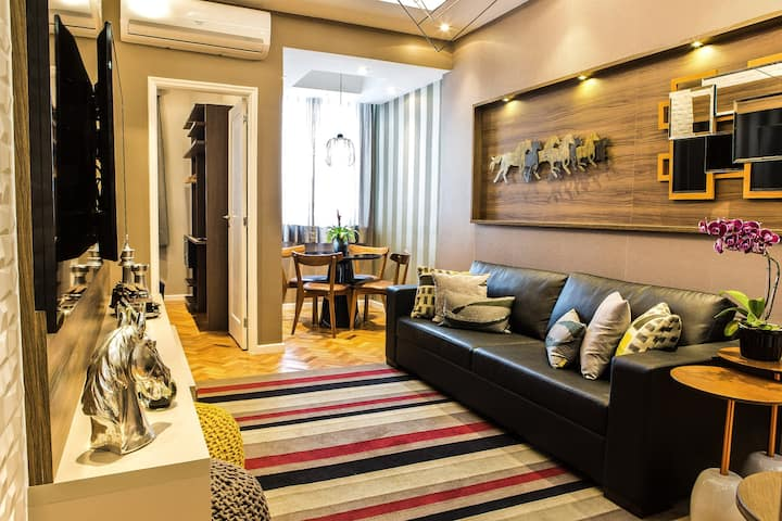 Very Elegant and Exclusive Copacabana Apartment