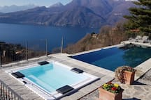Villa Silvi Exclusive pool & hot tub Lake  view