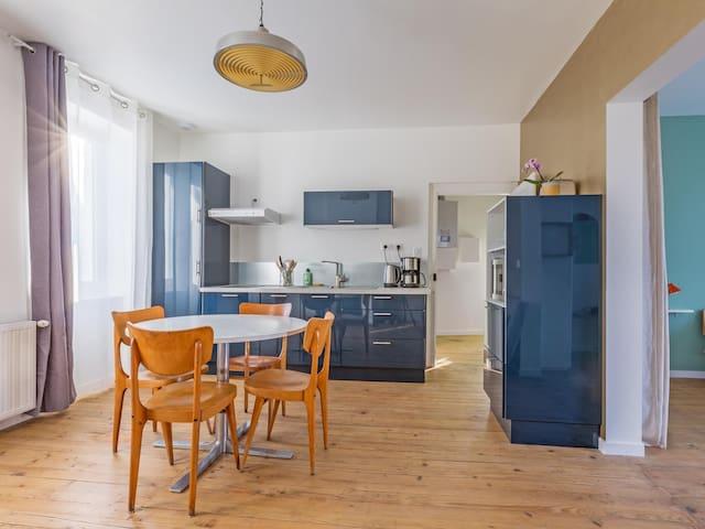 Le Passage - appartement lumineux avec terrasse