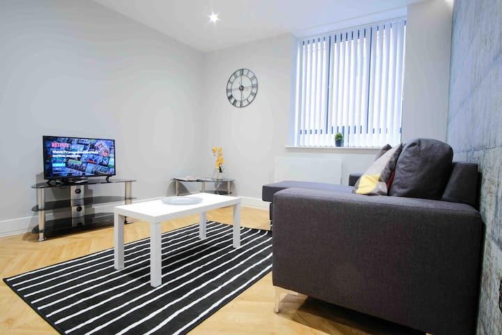 **Jasper - Luxury 1 bed apartment- Central Bham**