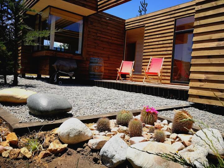 Casa en condominio bajada privada a la playa mtz