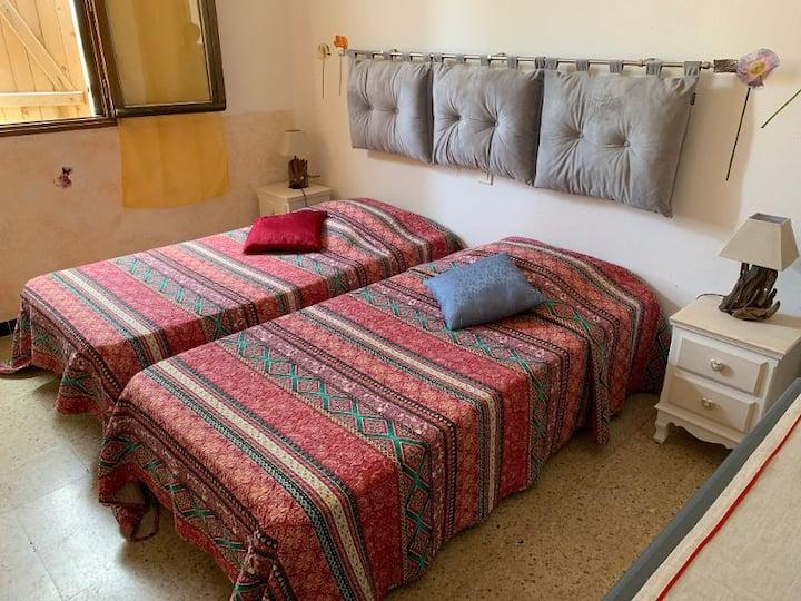 chambres hotes dans auberge 3 chambres avec salle